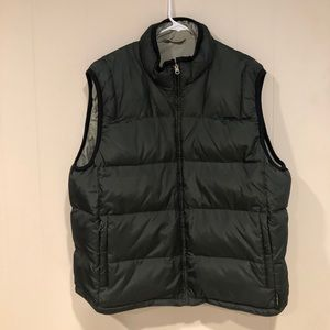 Eddie Bauer REVERSIBLE VEST! never worn!